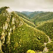 Leven Canyon Reserve Tasmania Art Print
