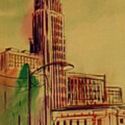 Leveq-lncoln Tower Columbus Ohio Art Print