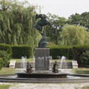 Levi L. Barbour Memorial Fountain Art Print