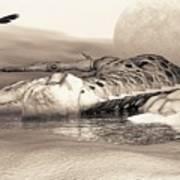 Leviathan's Lament Art Print