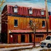 Levine Brothers Plumbers Montreal Art Print