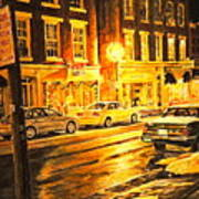 Lexington Street Light Art Print