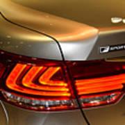 Lexus Ls 460 F Sport Tail Light Art Print