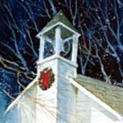 Liberty Christmas Art Print