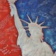 Liberty Is... Art Print