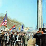Liberty Memorial Kc Veterans Day 2001 Art Print