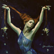 Libra From Zodiac Series Art Print