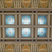 Library Of Congress Ceiling  Art Print