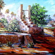 Libyan Farm Art Print