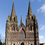 Lichfield Cathedral Art Print