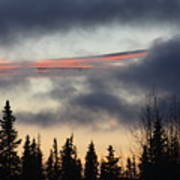 Licorice In The Sky Art Print