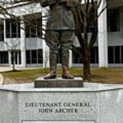 Lieutenant General John Archer Lejeune Art Print