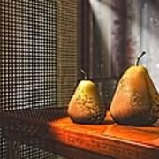 Life As A Pear Art Print