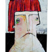 Life As Human Number Seven Art Print by Mark M  Mellon
