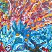 Life Ignition Mural V2 Art Print