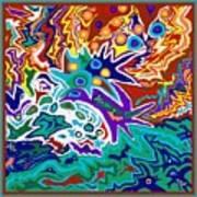 Life Ignition Option 2 With Borders Art Print