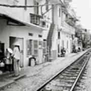 Life In Hanoi Art Print