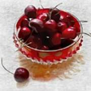 Life Is A Bowl Of Cherries Art Print