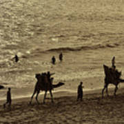 Life Near The Arabian Sea Art Print