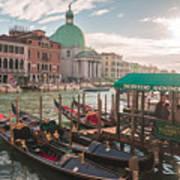 Life Of Venice - Italy Art Print