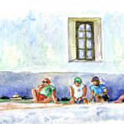 Life On Culatra Island Art Print