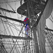 Life On The Ropes Art Print