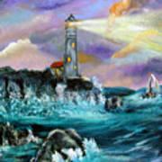 Life's Storms Art Print