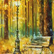 Light And Passion Art Print