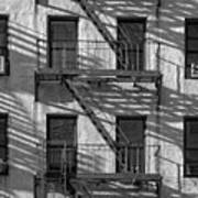 Light And Shadow On First Avenue Art Print
