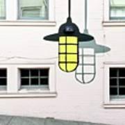 Light Bulb Mural Art Print