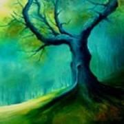 Light On A Dead Tree Art Print
