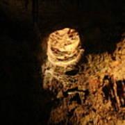Light Peeks Through - Cave Art Print