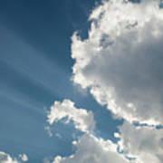 Light Through The Clouds Art Print