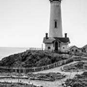 Light Tower Of The Pacific Art Print