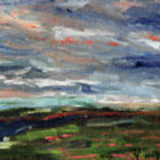Light Upon The Marsh Art Print