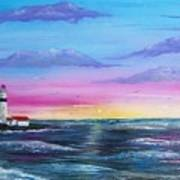 Lighthouse  5 Art Print