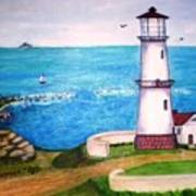Lighthouse Glory Art Print