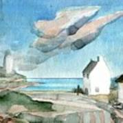Lighthouse Harbour 3 Art Print
