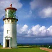 Lighthouse Impression Art Print
