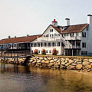 Lighthouse Inn At Bass River Art Print