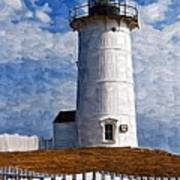 Lighthouse Keepers Dwelling Art Print