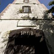 Lighthouse On Point Venus Art Print