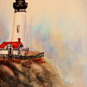 Lighthouse Point Art Print