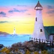 Lighthouse Study Art Print