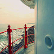 Lighthouse View Art Print