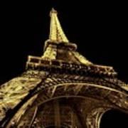 Lighting The World Of Paris Art Print