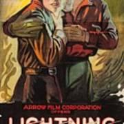 Lightning Bryce 1919 Art Print