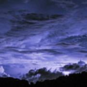 Lightning Over Pohnpei Art Print