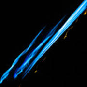 Electric Neon Three Art Print