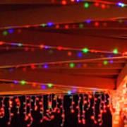 Lights At Christmas Art Print